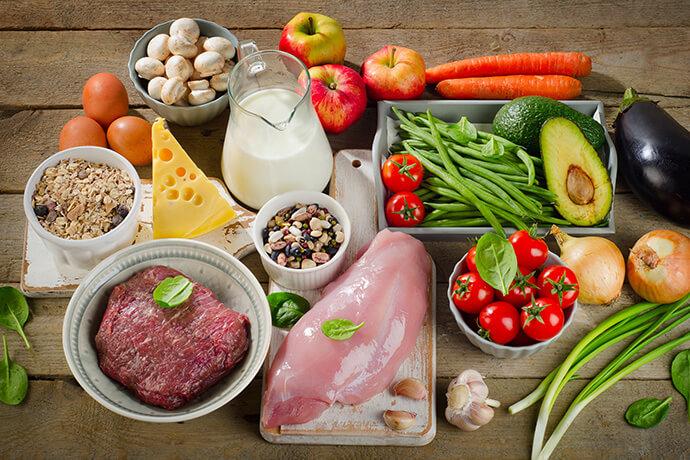 「お客様に合わせて毎日の食事管理」の画像