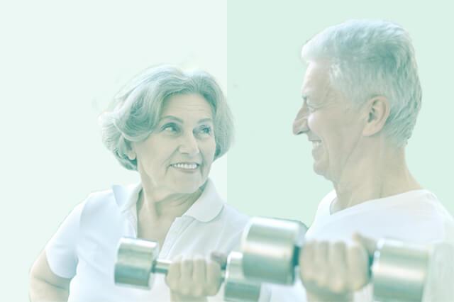 &fitで「生涯健康」のイメージ画像
